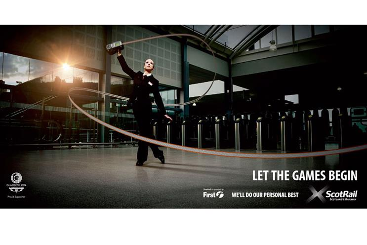 ScotRail ad: Glasgow 2014 games