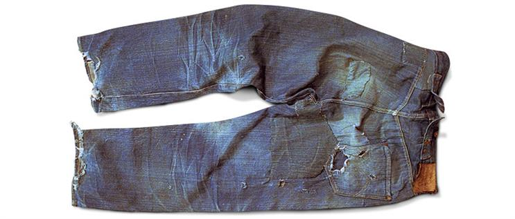 Tribute to an icon: Levi's jeans