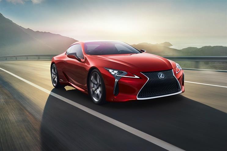 Lexus launches pop-up at Westfield London