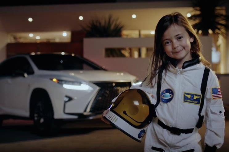 Lexus celebrates astronaut Scott Kelly's record-breaking space trip
