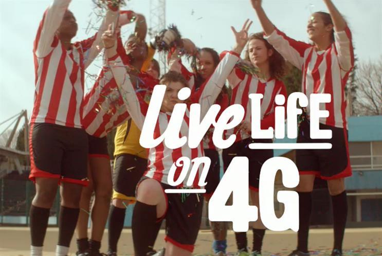 "Vodafone UK: ""let's go!"" by Grey London"