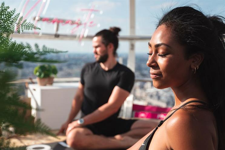 London Eye: class will feature yoga flow and meditation
