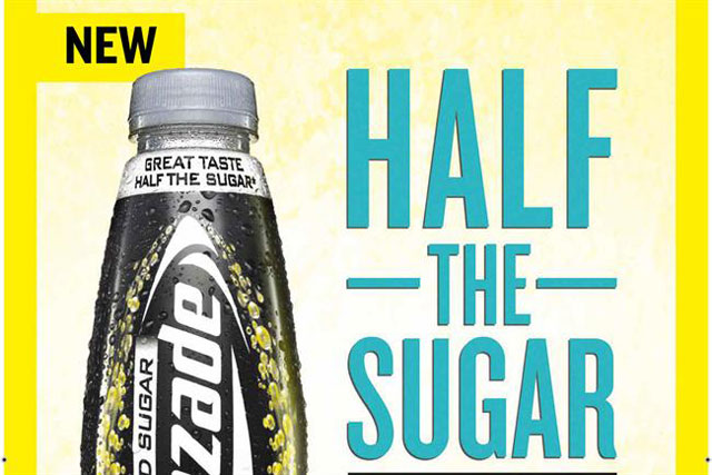 Lucozade: launches reduced sugar energy drink