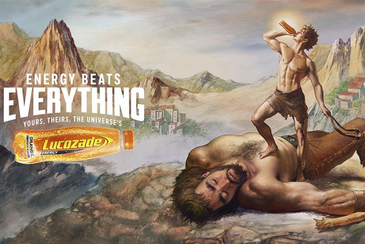 Lucozade: will it go biblical?