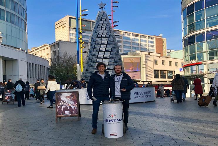 Lurpak unveils 'butter-themed' Christmas tree