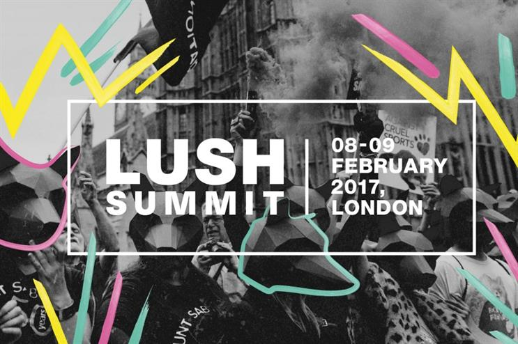 Lush to stage The Lush Summit next month