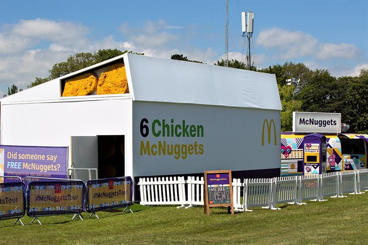 McDonald's: sharebox festival experience