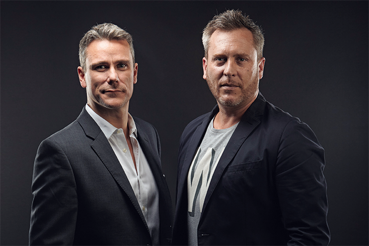 Scott Feasey, the managing director (left), will work with Ryan Reed, the creative partner