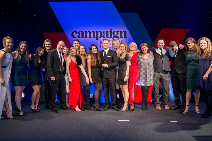 MEC: won Media Agency of the Year at the Campaign Media Awards