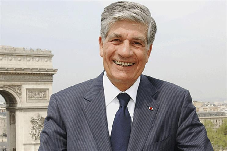 Maurice Lévy: the chairman and chief executive of Publicis Groupe