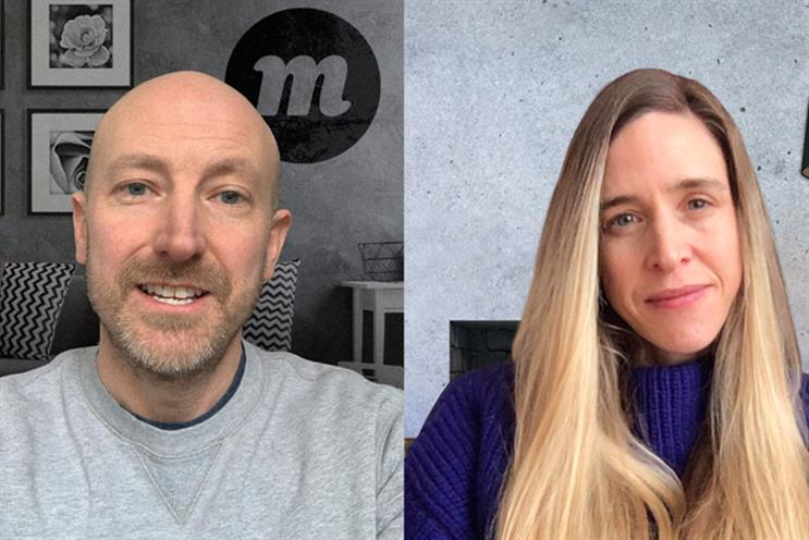Momentum: Exley (left) and Ellis-Hill will deliver physical and digital experiences
