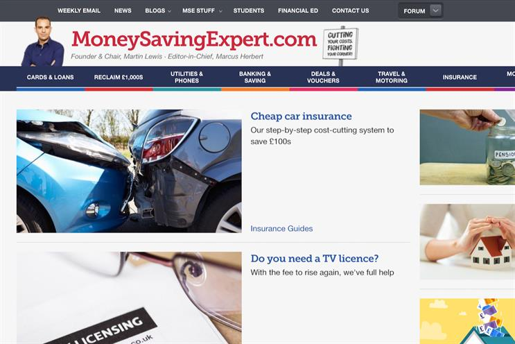 MoneySavingExpert: UK's most-recommended brand by users