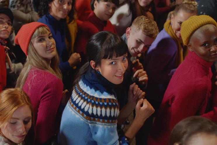 'Go jumpers': last year's Christmas ad for M&S clothing