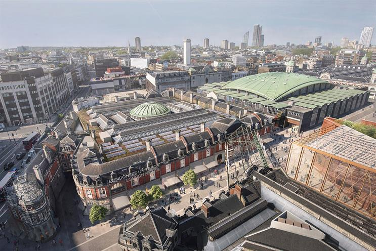 Museum of London: set to move from current London Wall location to Smithfield (pictured)