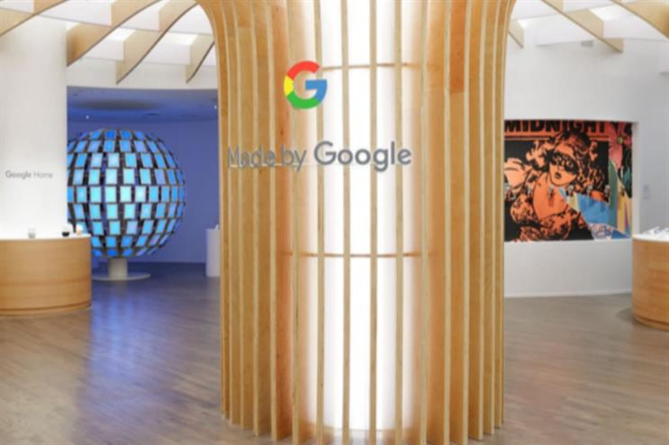 Google launch New York pop-up