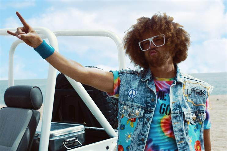 Redfoo: his latest music video features Malibu