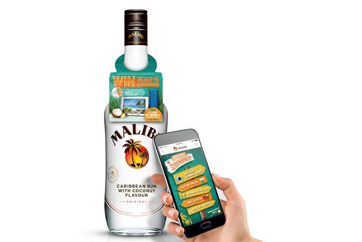 Pernod Ricard calls Malibu ad review