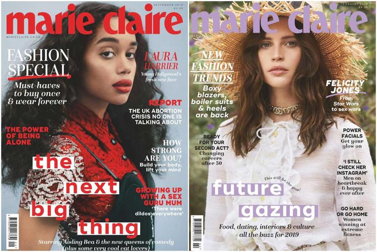 Marie Claire: November issue will be last in print