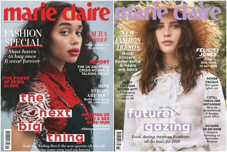 Marie Claire: TI Media brand