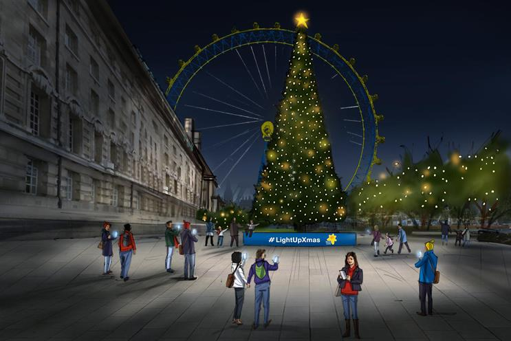 Marie Curie to set up Christmas tree powered by memories