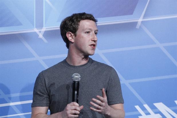Mark Zuckerberg, the chief executive of Facebook