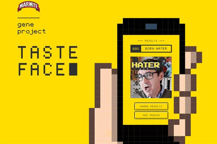 Prior to this appointment, AnalogFolk created the TasteFace app for Marmite