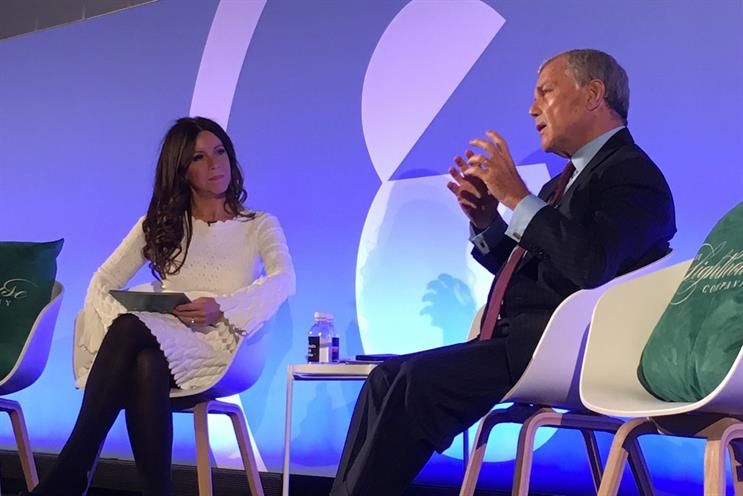 Martin Sorrell: I'm going back to the 1990s