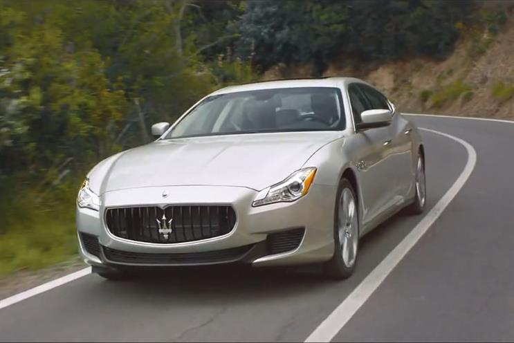Maserati: has worked with agencies including Mcgarrybowen