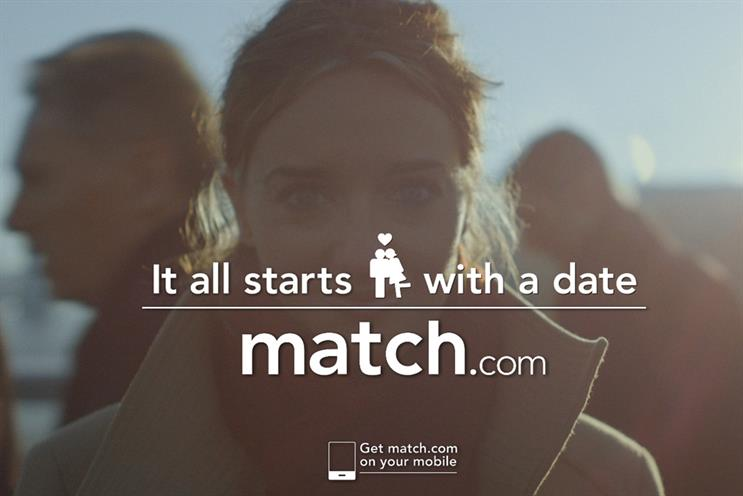 Match.com: Vizeum won the account after a three-month pitch process
