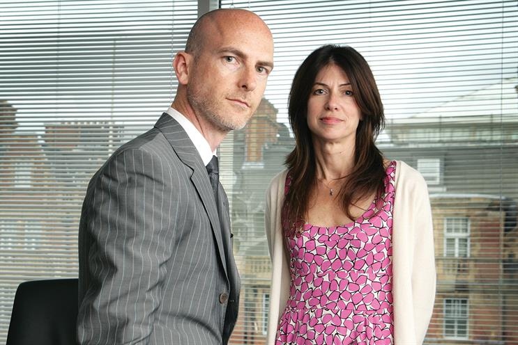 Craig Mawdsley and Bridget Angear, Abbott Mead Vickers BBDO