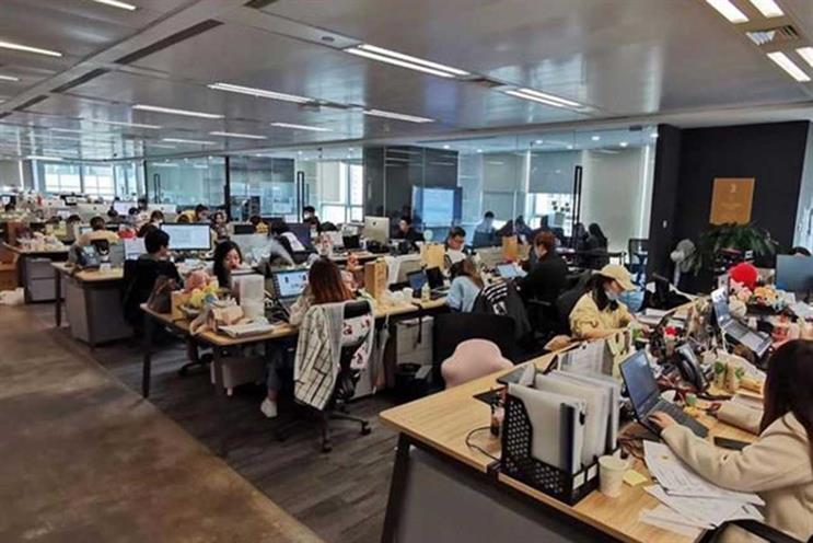 McCann Shanghai: staff returned to office at end of March