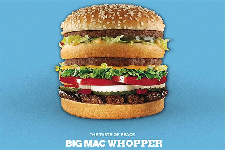 Harvey and Walters' Big Mac Whopper: a tasty proposition