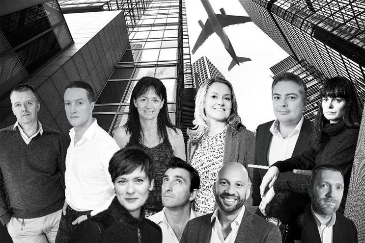 Top row: Irwin, Morris, Biggam, Forde, Adams and Cummins; bottom row: Djurdjevic, Stephens, Pierre and Pearson