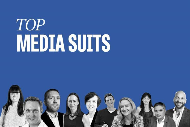 Top media suits: Cummins, Knight, Pearson, Reed, Rowlinson, Stephens, Forde, Biggam, Adams and Pierre