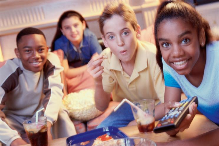 Children's TV viewing: decline attributed to the proliferation of tablets and smartphones. Credit: Thinkstock