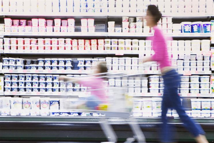 Supermarkets: nearly a quarter of mums surveyed go to more than one for their 'main' shop. Credit: Getty Images