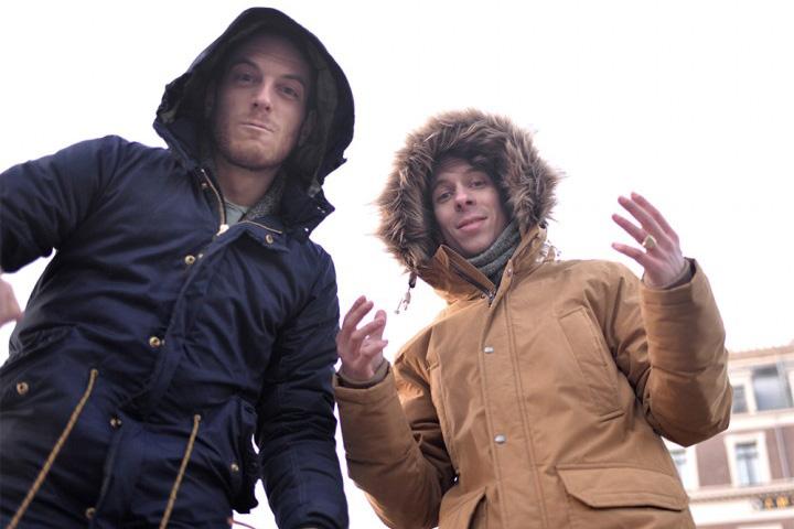 Tim Menko, left, and Ingmar Larsen