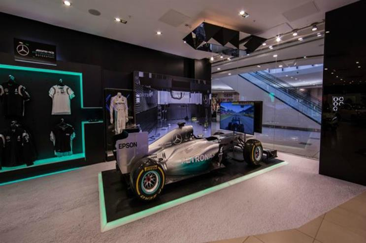 Mercedes-Benz: showcasing latest collection