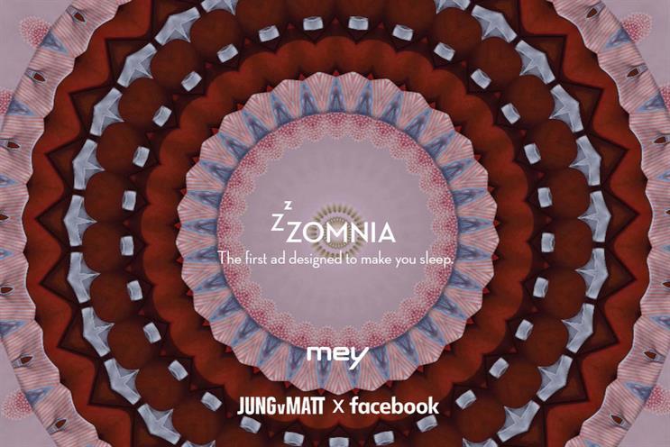Mey: using fractal imagery to induce sleep
