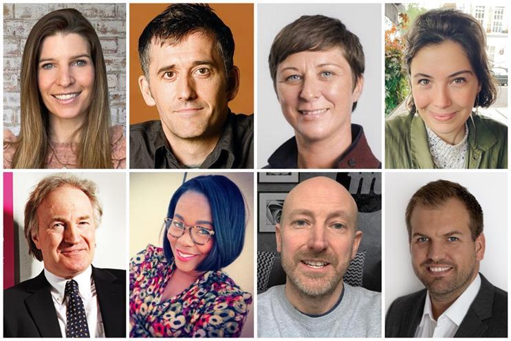 Clockwise from left: Cranston, Davidson, Springham, Bunney-Gillies, Hawker, Exley, Watson, Macleod