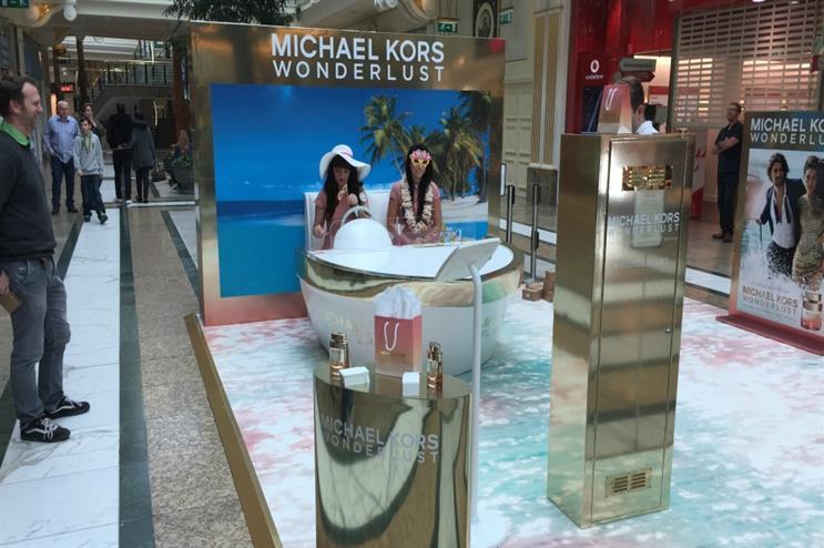 Luxury feel: Michael Kors' Wonderlust