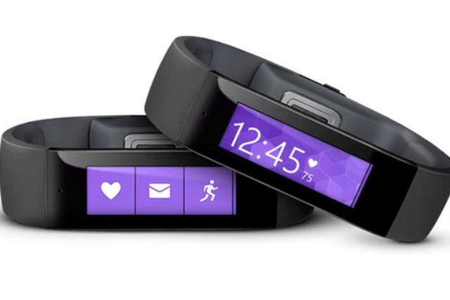 Microsoft Band: the tech giant has entered the increasingly competitive wearables marketplace