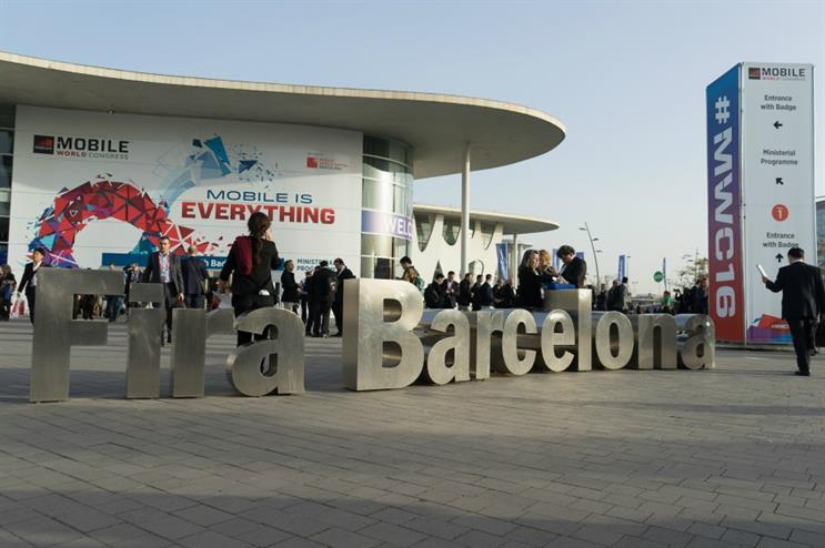 Mobile World Congress is taking place in Barcelona this week (22-25 February)