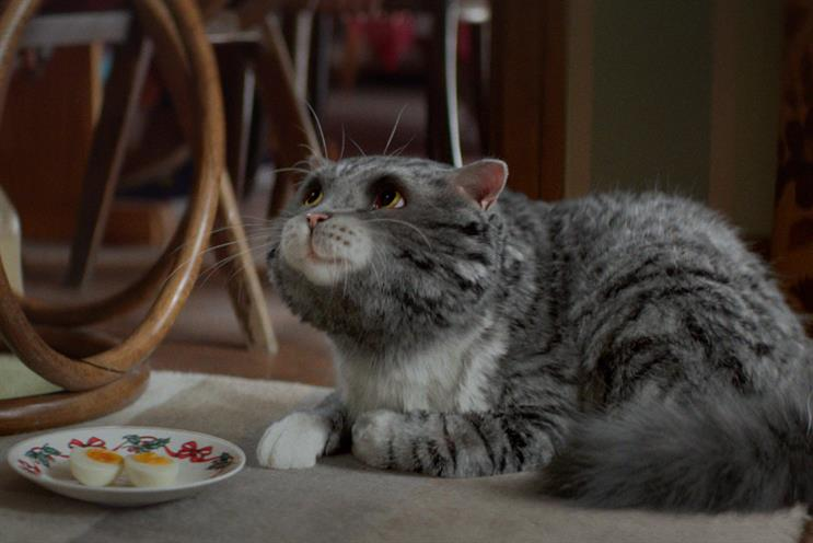 "Sainsbury's ""Mog's Christmas calamity"" by AMV BBDO is shortlisted"