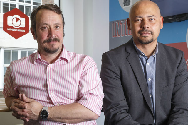Moment Studio: Paul Johnson and Jonathan Akwue will run the UK division