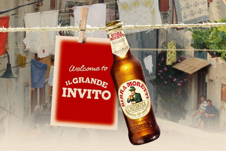 Birra Moretti: also making at appearance at British Summer Time festival