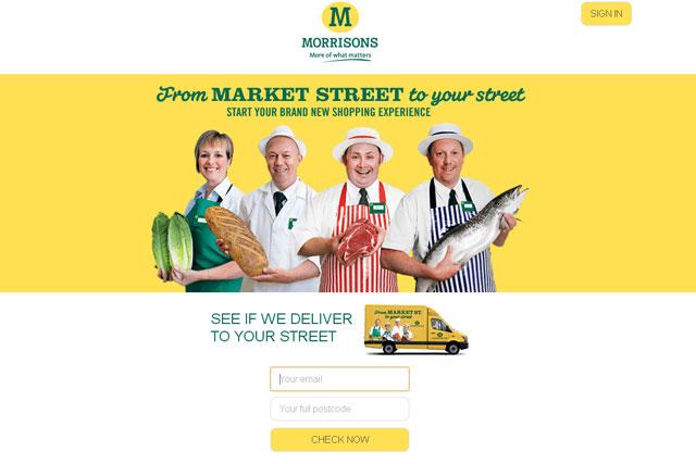 Morrisons: long-awaited e-commerce offering