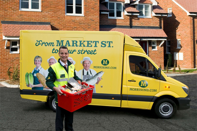 Morrisons: launched online grocery operation