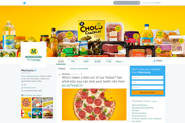 Morrisons: getting to grips with digital channels