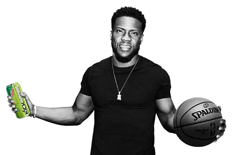 Mountain Dew creates NBA All-Star pop-up with Kevin Hart